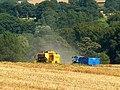 Harvesting operations near Stert - geograph.org.uk - 523806.jpg
