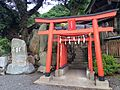 Hayatomo Inari Shrine in Mekari Shrine.JPG