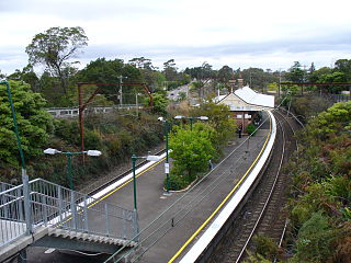 Hazelbrook railway station