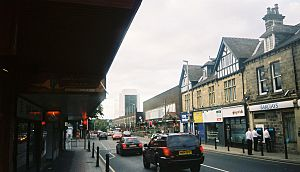 Headingley - The centre of Headingley