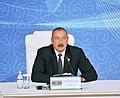 Heads of State of Caspian littoral states made press statements at Aktau Summit 3.jpg