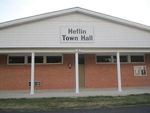 Heflin, Louisiana - Heflin Town Hall