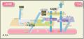 Heian-dori station map Nagoya subway's Kamiiida line 2014.png