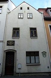 Marschners Geburtshaus in Zittau (Quelle: Wikimedia)