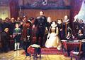 Heinrich Posthumus empfängt 1592 Nicolaus de Smit.png
