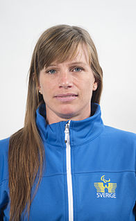 Helene Ripa Swedish paralympic athlete