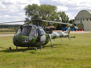Westland Helicopters - Privately owned ex-military Westland Scout AH.1 (XV134)