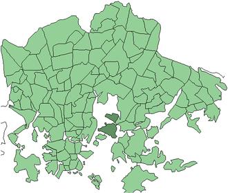 Kulosaari - Image: Helsinki districts Kulosaari