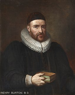 Henry Burton (theologian) English theologian