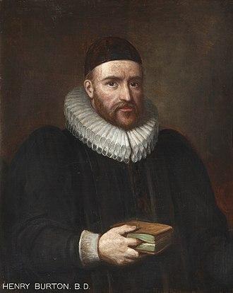 Samuel Chidley - Henry Burton.