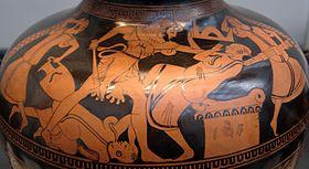 Herakles Bousiris Staatliche Antikensammlungen 2428