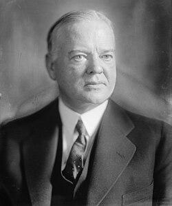 Президент США Герберт Кларк Гувер