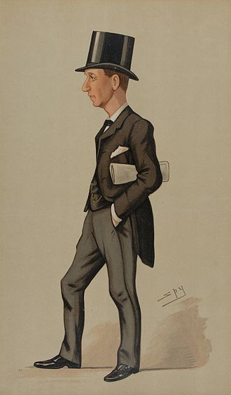 H. H. Asquith - Asquith, caricatured by Spy, in Vanity Fair, 1891