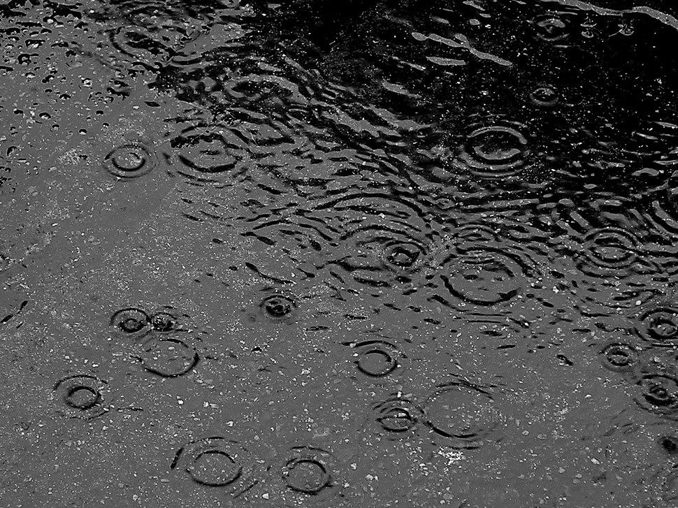 Here comes rain again