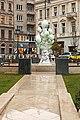 Herendi fountain in József nádor Square - November 2019.jpg