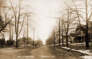 Tenafly, New Jersey -  Hillside Avenue, c. 1913–1916