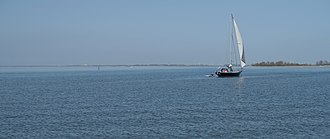 IJsselmeer - Hindeloopen, view to the IJsselmeer