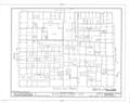Historic Zone, Block Study, Calle de las Cruz,Sol,Luna and San Jose, San Juan, San Juan Municipio, PR HABS PR,7-SAJU,42- (sheet 3 of 12).png
