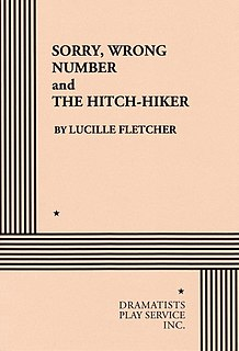 <i>The Hitch-Hiker</i> (radio play) audio drama written by Lucille Fletcher