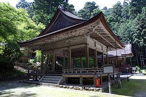 Hiyoshi Taisha - Image: Hiyoshi taisha shirayamahime jinja haiden 01n 4592