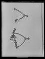 Hjulsporre, högersporre av mässing, 1700-tal - Livrustkammaren - 19311.tif