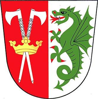 Hošťka - Image: Hošťka znak