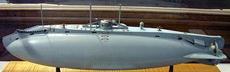Holland-class submarine - Image: Holland submarine model