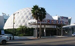 Cinerama Dome - Image: Hollywood Cinerama Dome