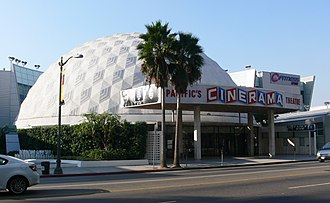 Cinerama Dome - Image: Hollywood Cinerama Dome