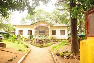 Home economics - Home economics building at an elementary school in Sariaya in the Philippines