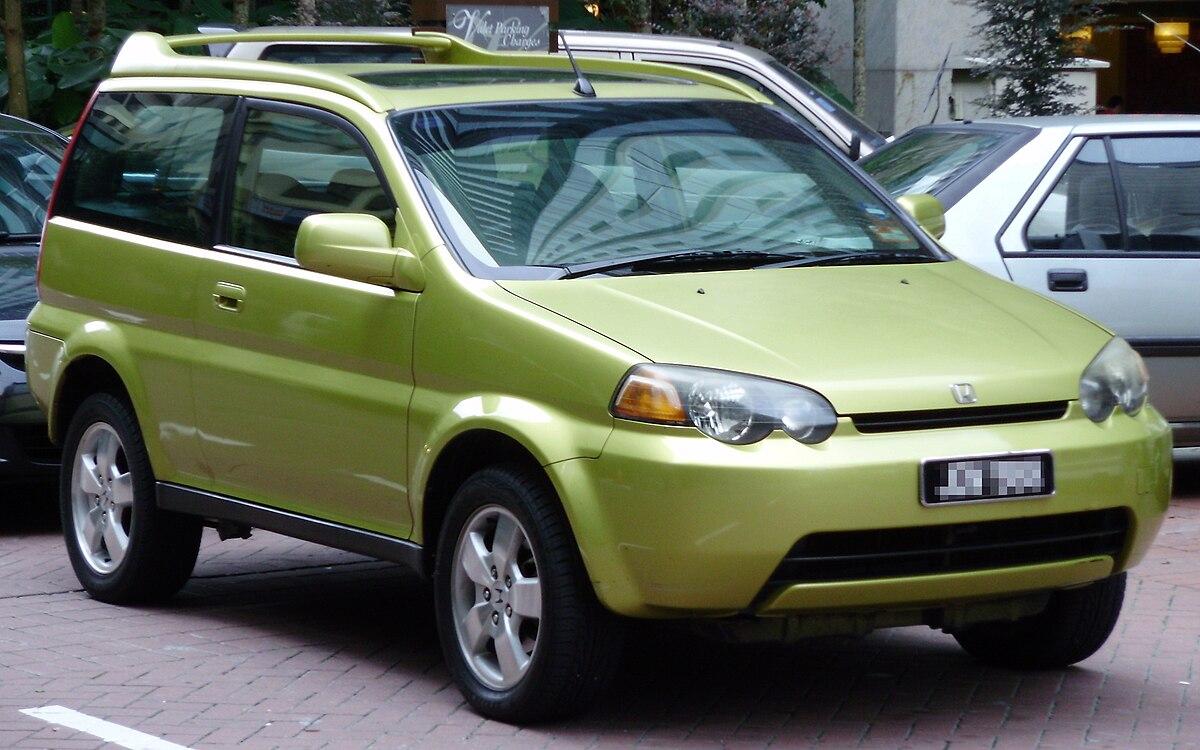 File:Honda HR-V (first generation) (front), Kuala Lumpur ...