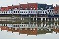 Hoog water in de Stadshaven in Wijk bij Duurstede.jpg