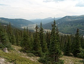 North Park Lincoln >> Hoosier Pass - Wikipedia