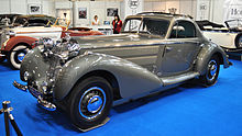 Photo de la voiture personnelle de Rosemeyer, une Horch 853 Coupé.