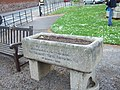 Horse trough in the centre of Alphington - geograph.org.uk - 1321053.jpg
