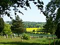 Horsmonden, view from St Margaret's churchyard.JPG
