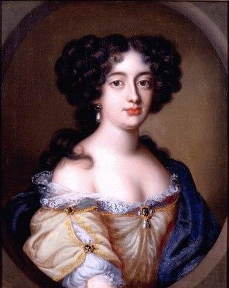 Hortense Mancini - Hortense Mancini by Jacob Ferdinand Voet