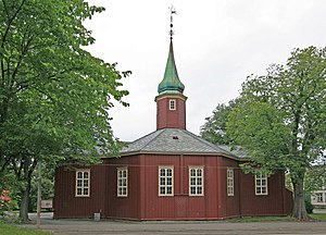 Octagonal churches in Norway