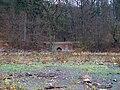 Hostivařská přehrada, propustek z údolí u Mouchova mlýna.jpg