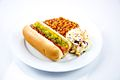 Hot Dog with Baked Beans and Coleslaw (5076896284).jpg