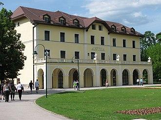 Ilidža - Image: Hotel Austria, Ilidža (2010)