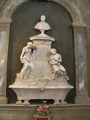 Étienne Dantoine - funeral monument of Bishop Inguimbert sculpted by Étienne Dantoine, Hôtel-Dieu of Carpentras, 1774