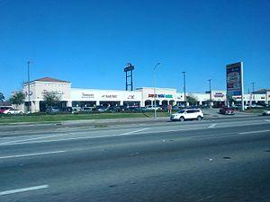 South Texas Dental - A shopping center in Houston with a South Texas Dental