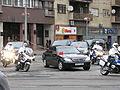 Hu Jintao motorcade, Zagreb, Croatia 2009 4.jpg
