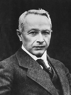 Hugo Junkers - Hugo Junkers in 1920