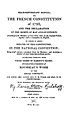 Hulshoff 1817 - Title Page The French Constitution.jpg