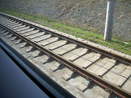 Intercity-Express Track, Germany ICE TrainTrack.JPG