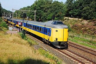 NS Intercity Materieel - An unrefurbished ICM at Veluwe