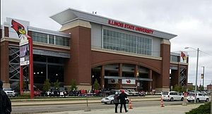 Hancock Stadium - ILST vs SDSU Homecoming 2014