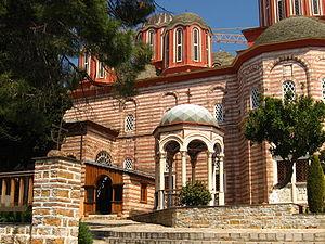 Xenophontos monastery - Image: IMG 1037 20070424 xenophontos monastery a